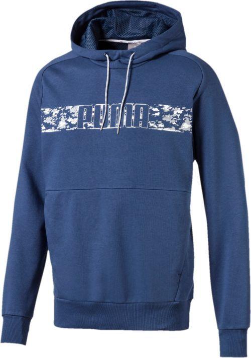 Купить Худи мужское Puma Active Hero Hoody Tr, цвет: синий. 59495850. Размер XL (50/52)