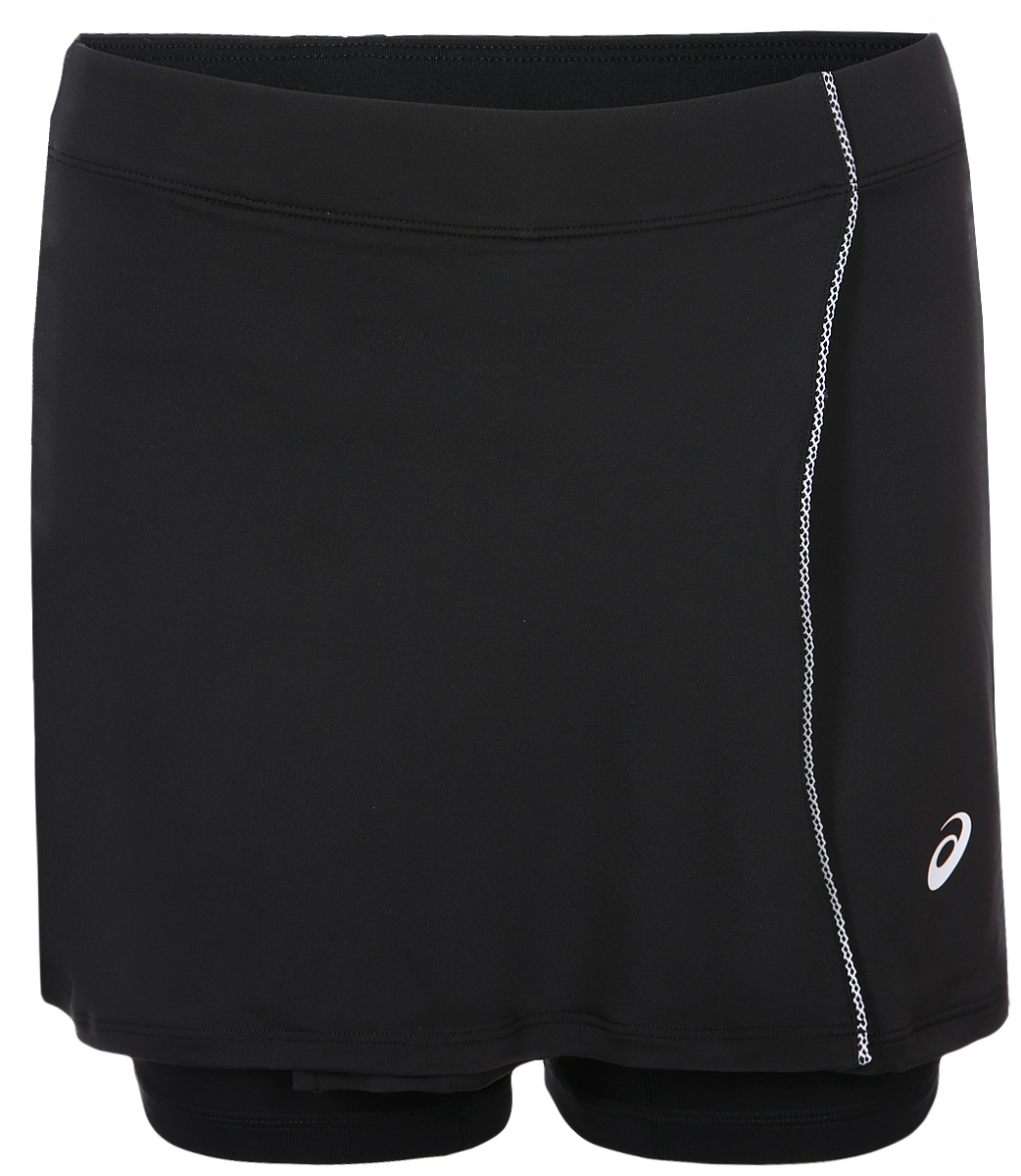 Юбка Asics Kneetight, цвет: черный. 154425-0904. Размер XS (42) футболка asics футболка asics stripe ss top
