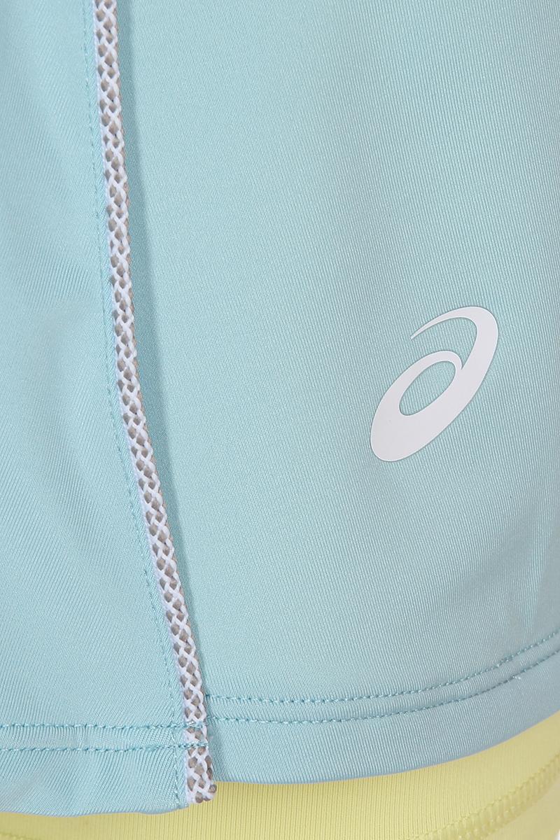 Юбка Asics Skort, цвет:  голубой.  154422-8099.  Размер M (46) Asics
