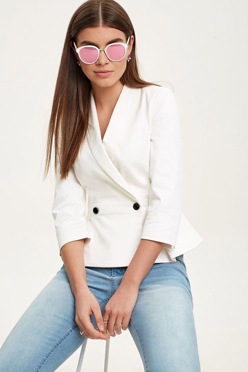 Купить Жакет женский Concept Club Surch, цвет: белый. 10200130149_200. Размер M (46)