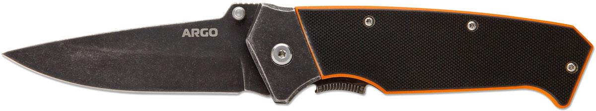 Нож складной Ножемир Четкий расклад. Argo, цвет: черный, длина лезвия 8,9 см