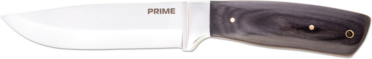 Нож туристический Ножемир, цвет: коричневый, длина лезвия 13,8 смH-228Большой прямой охотничий нож с небольшими спусками, выполненный из 440-ой стали (нержавейки). В качестве накладок используется дерево венге, которое давно зарекомендовало себя как долговечный и удобный материал при работе, таким ножом можно с легкостью рубить, колоть или копать. Неприхотливость стали и возможность заточить ее буквально на коленях делают данный клинок поистине универсальным.