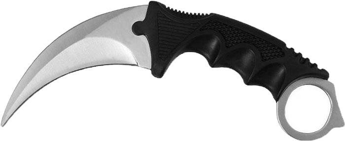 Нож нескладной Ножемир Керамбит, цвет: серый металлик, длина лезвия 8,9 см ножемир н 222 нескладной page 4