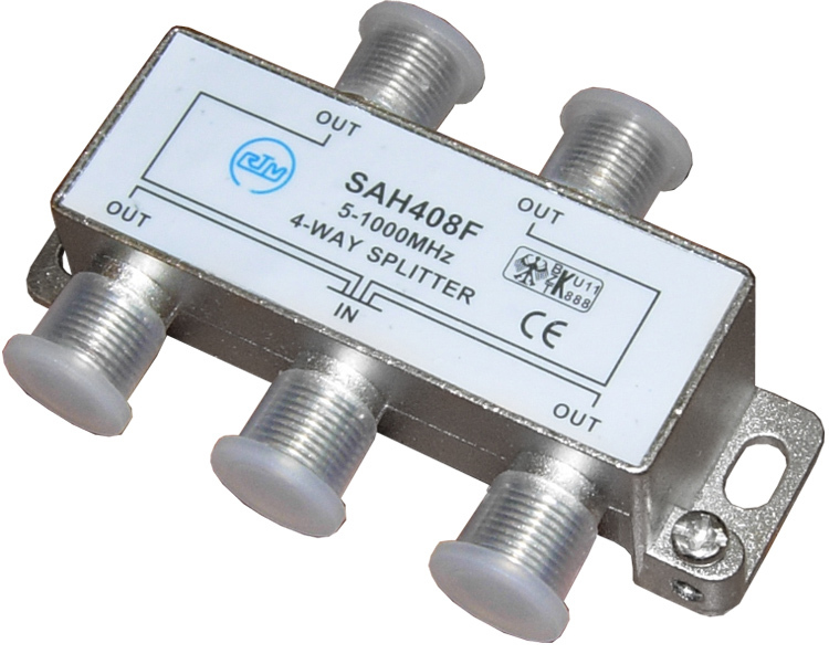 Pro Legend PL1107 сплиттер на 4 направления 5-1000 МГц