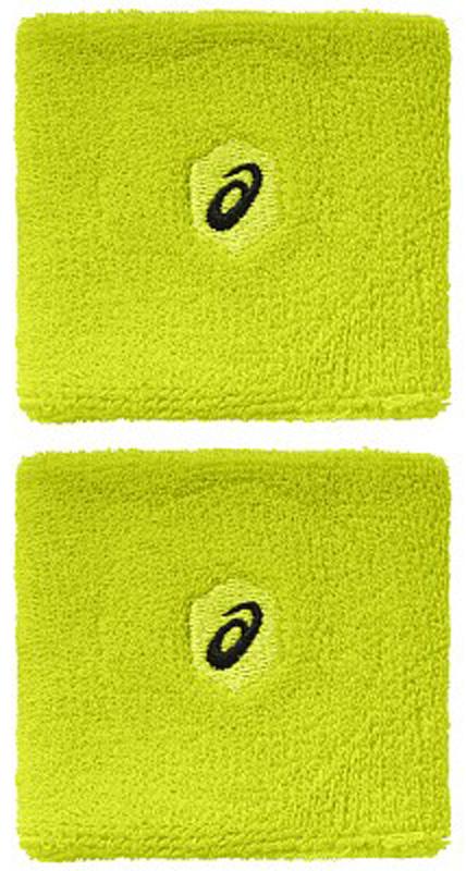 Напульсники Asics Wrist Band, цвет: желтый, 2 шт. 155937-0392155937-0392Напульсники Asics Wrist Band будут уместны для занятий разными видами спорта. И новички, и люди, занимающиеся спортом профессионально, по достоинству оценят все его преимущества. Напульсники изготовлены из мягкого материала, приятного телу, а благодаря добавлению спандекса обеспечивается плотное прилегание к запястьям, при этом они не сдавливаются. Напульсники защищают от растяжений сухожилия, обеспечивая комфорт.