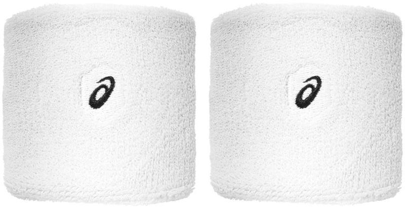 Напульсники Asics Wrist Band, цвет: белый, 2 шт. 155937-0014155937-0014Напульсники Asics Wrist Band будут уместны для занятий разными видами спорта. И новички, и люди, занимающиеся спортом профессионально, по достоинству оценят все его преимущества. Напульсники изготовлены из мягкого материала, приятного телу, а благодаря добавлению спандекса обеспечивается плотное прилегание к запястьям, при этом они не сдавливаются. Напульсники защищают от растяжений сухожилия, обеспечивая комфорт.