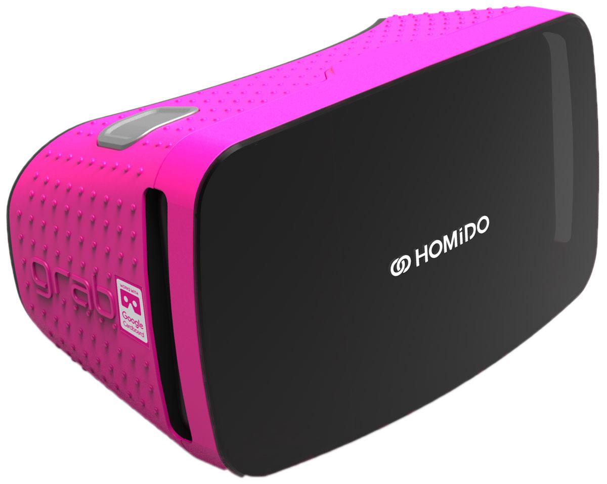 Homido Grab HMDG-P, Pink очки виртуальной реальности homido mini