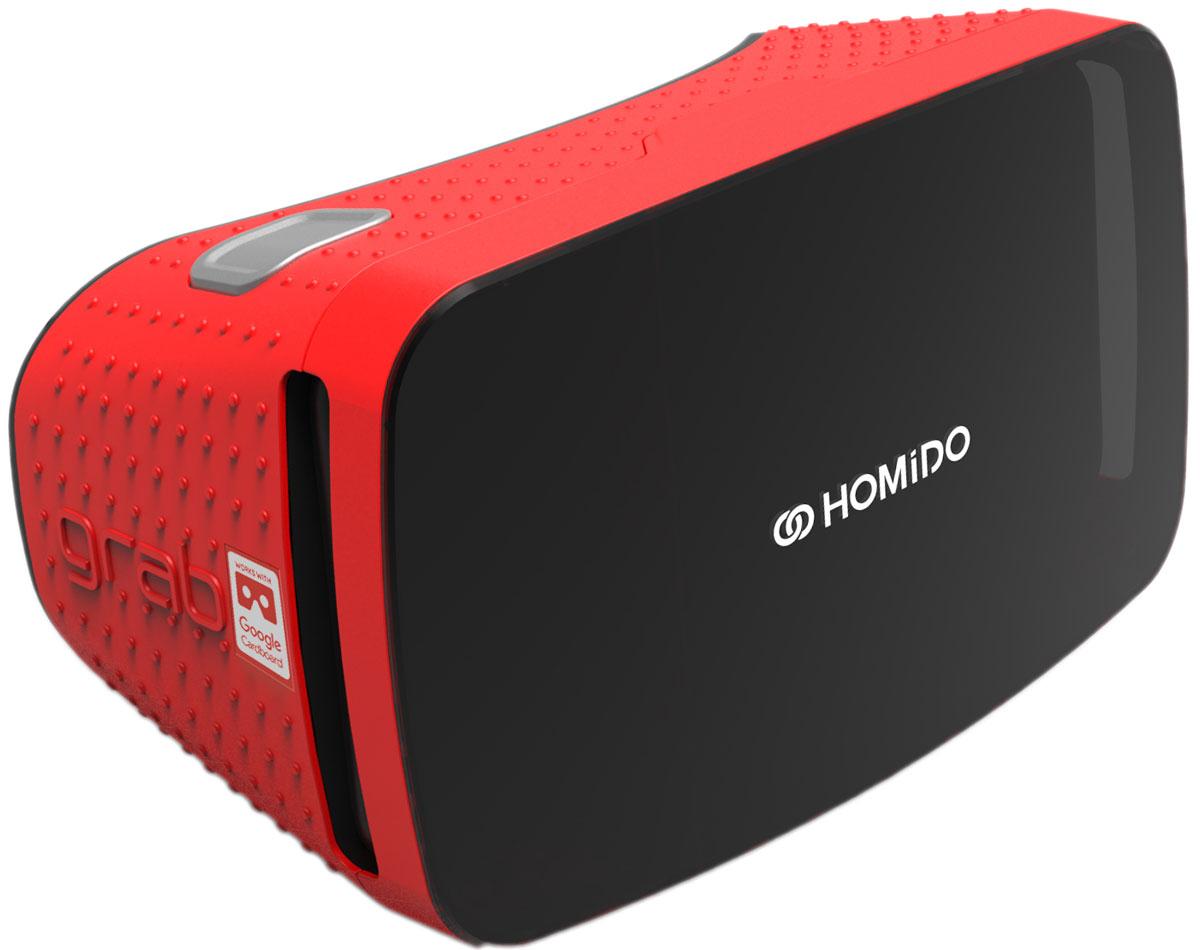 Homido Grab HMDG-R, Red очки виртуальной реальности - VR и 3D очки