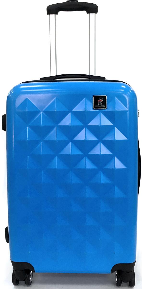 Чемодан Удачная покупка Дракон, цвет: голубой, 68 л. БП-00000116БП-00000116Чемодан Dragon БП-00000116 станет незаменимым аксессуаром для людей, чья жизнь проходитв постоянном движении.Наличие встроенного кодового замка с функцией TSA, обеспечитсохранность вашего багажа, а для удобства транспортировки имеется выдвижная ручка сфиксацией по длине в нескольких положениях.Кроме того, конструкция с четырьмяповоротными колесами придаст вам небывалую маневренность и удобство.