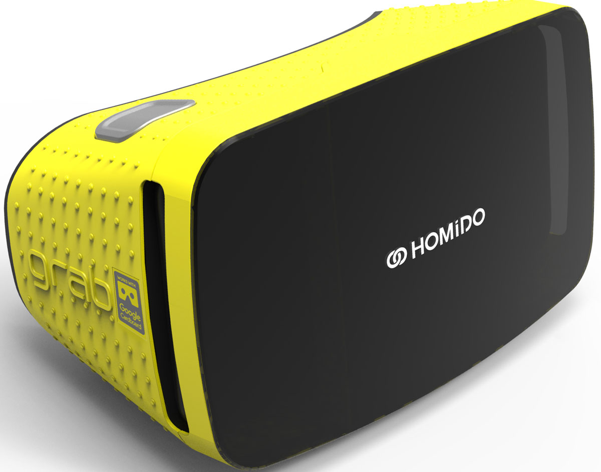 Homido Grab HMDG-Y, Yellow очки виртуальной реальности - VR и 3D очки