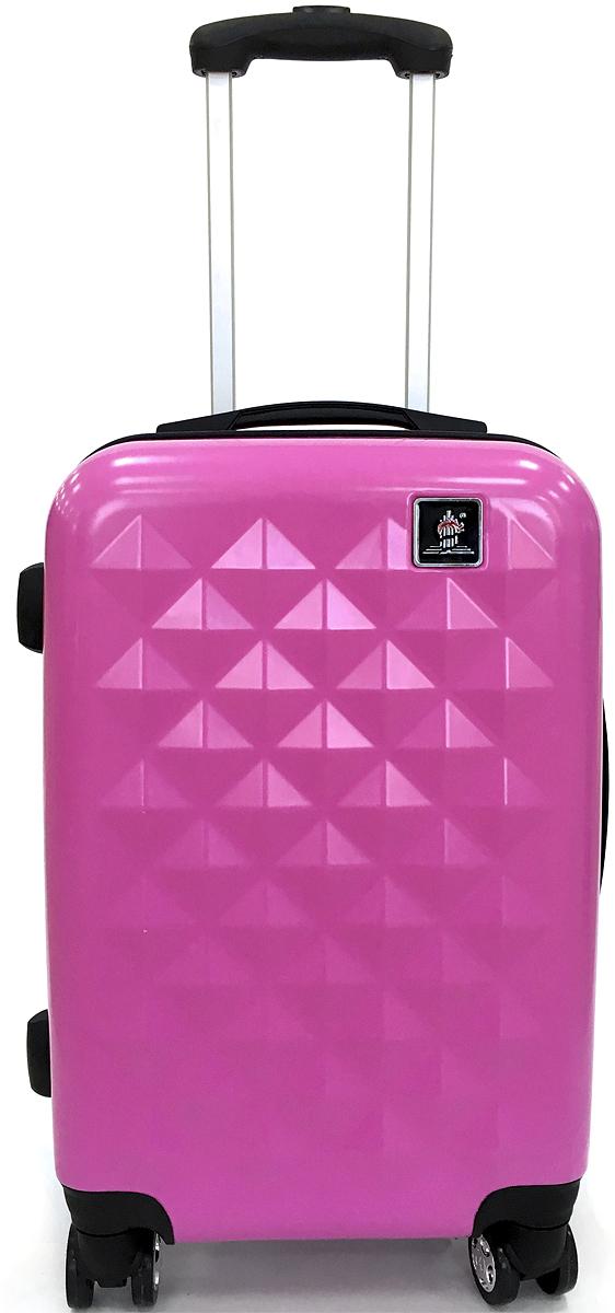 Чемодан Удачная покупка Дракон, цвет: розовый, 36 л. БП-00000115БП-00000115Чемодан Dragon БП-00000116 станет незаменимым аксессуаром для людей, чья жизнь проходит в постоянном движении.Наличие встроенного кодового замка с функцией TSA, обеспечит сохранность вашего багажа, а для удобства транспортировки имеется выдвижная ручка с фиксацией по длине в нескольких положениях.Кроме того, конструкция с четырьмя поворотными колесами придаст вам небывалую маневренность и удобство.