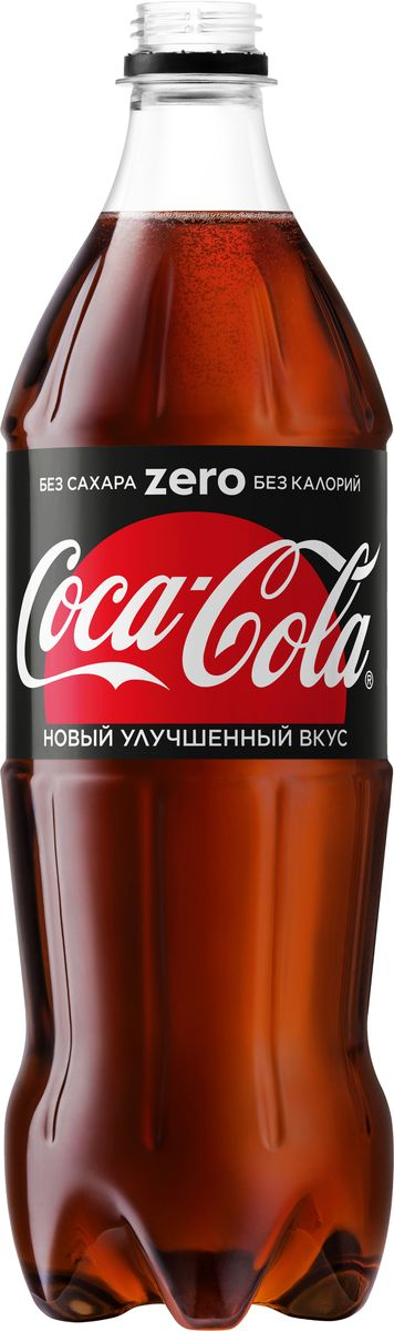 Coca-Cola Zero напиток сильногазированный, 0,9 л протеин qnt протеин metapure zero carb вкус тирамису 2 кг