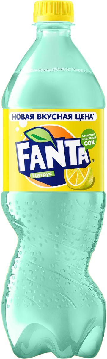Fanta Цитрус напиток сильногазированный, 0,9 л nestea цитрус зеленый чай 0 33 л