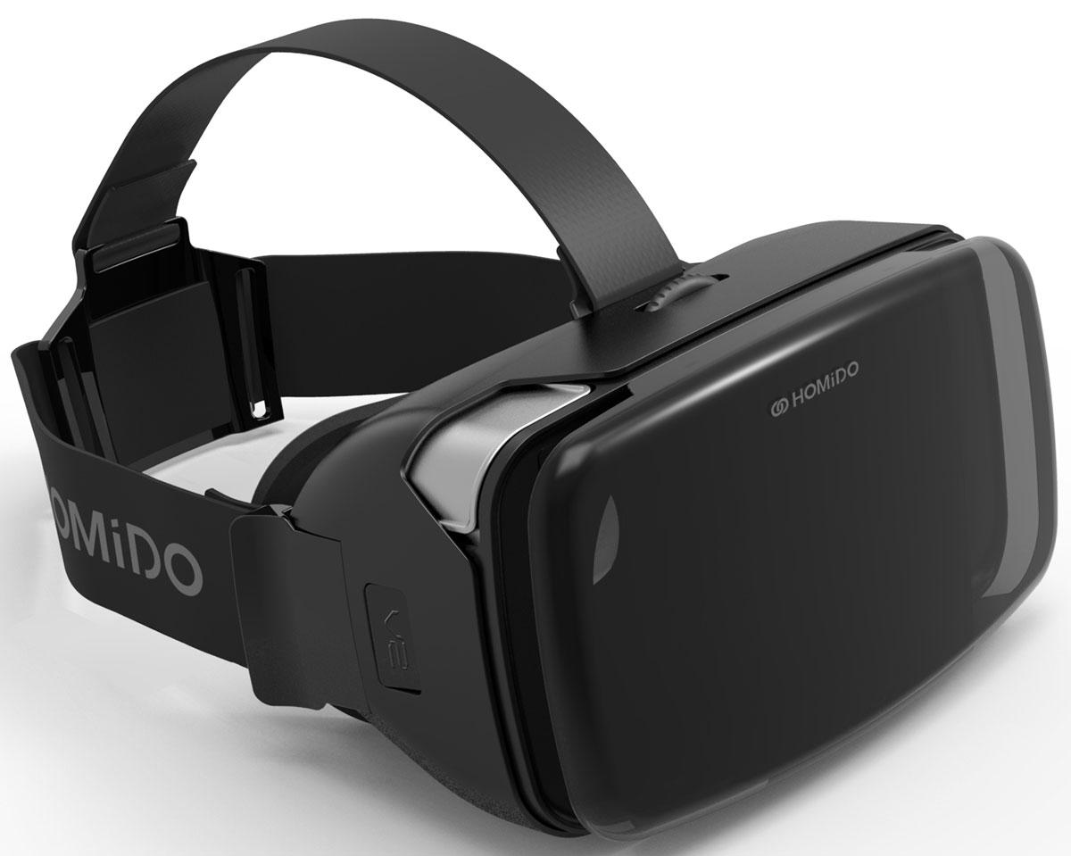 Homido V2 HMD-02, Black очки виртуальной реальности homido mini