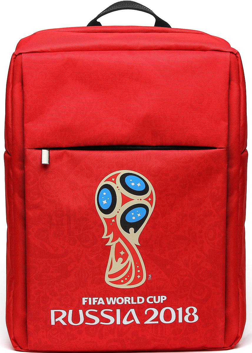 Crown Micro CM-F-BC8002 FIFA 2018, Red рюкзак для ноутбука 15,6CM-F-BC8002Рюкзак для ноутбука CM-F-BC8002 – станет не только верным спутником для вашего ноутбука, нои сохранит память о празднике футбола на долгие годы или послужит замечательным подаркомистинному фанату. Рюкзак изготовлен из высококачественного материала – нейлона 600D сводоотталкивающей пропиткой, подкладка изготовлена из полиэстера. Внутри два отделения –основное и карман с защитой от механических повреждений для ноутбука с диагональю до 15,6''.Спереди рюкзак имеет внешний карман на молнии. На задней стороне рюкзака разместилисьручка для переноски и широкие плечевые лямки с регулировкой по длине. Но конечно же, главнойособенностью данной модели является яркий внешний вид, выполненный в фирменнойсимволике FIFA с официальным логотипом чемпионата.