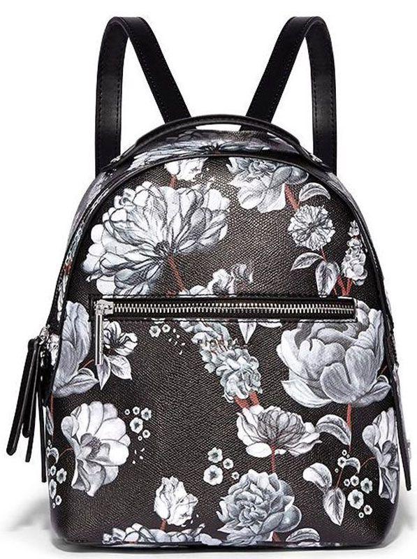 Рюкзак женский Fiorelli, цвет: черный. 0164 FWH Black Botanical