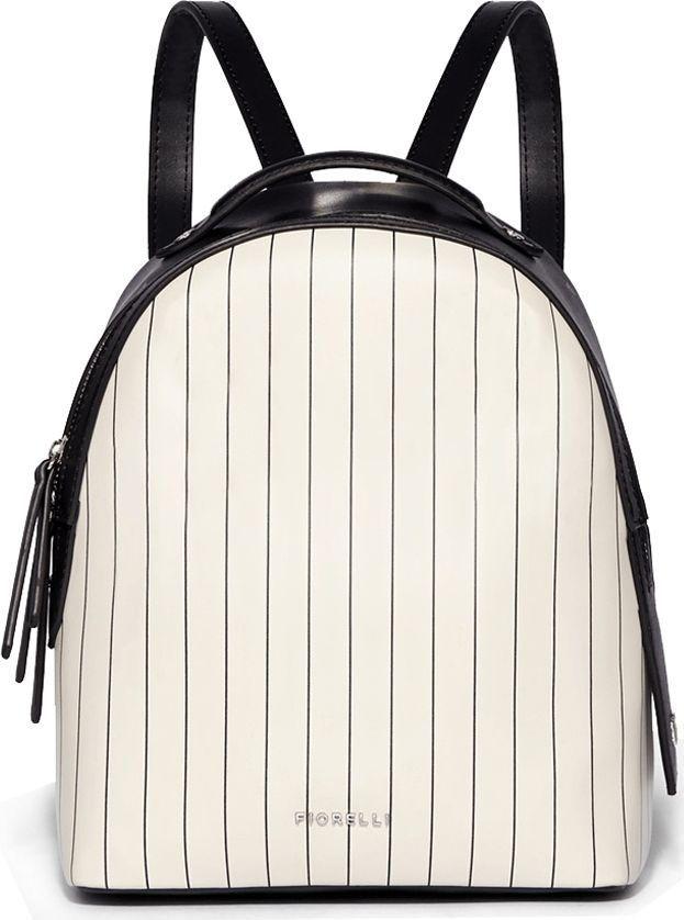Рюкзак женский Fiorelli, цвет: белый. 0164 FWH White Pin Stripe0164 FWH White Pin StripeFiorelli - это уникальная функциональность и оригинальный дизайн, обеспечивающие комфорт и неповторимый стиль своих обладательниц 24 часа в сутки, 7-дней в неделю! Лаконичные формы изделий обретают ультрасовременное звучание благодаря уникальным цветовым решениям, актуальным именно сегодня, но нацеленными в будущее. Тонкая полоска - абсолютный модный взрыв сезона SS18, а развитие темы монофлористики - зарекомендовавший себя тренд, но используемый в свежем, стилистически выверенном варианте. Черный, серый, белый и цвет тона загара формируют вечную цветовую палитру. Удивительного качества фурнитура, разработанная на уровне коллекций делюкс, добавляет изысканности коллекции Fiorelli. Изделия Fiorelli - простой и доступный способ быть безупречно стильной без лишних жертв.