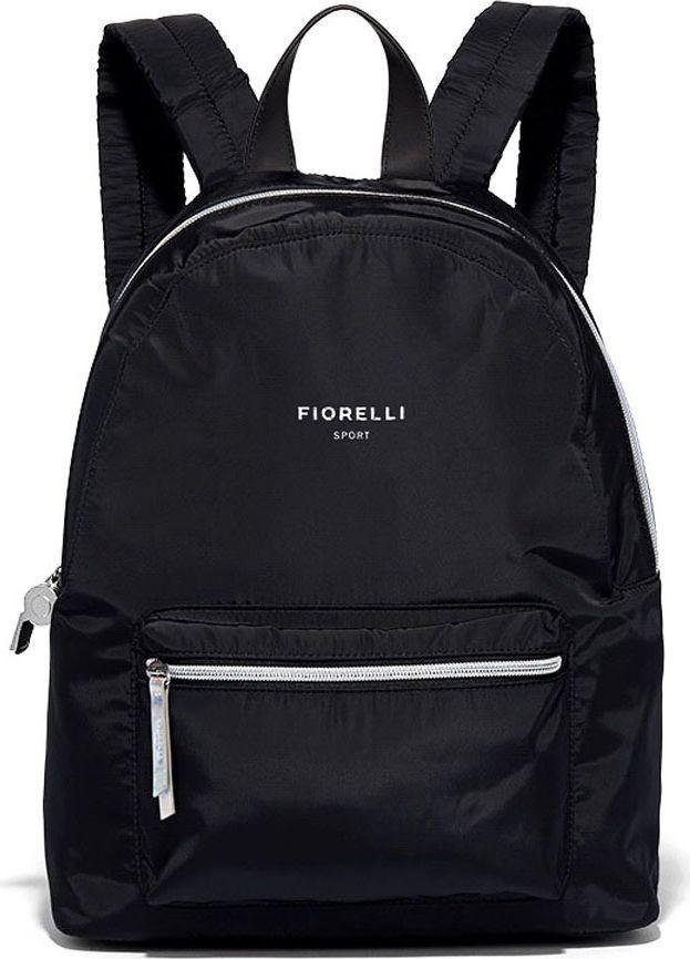 Рюкзак женский Fiorelli, цвет: черный. 0516 FSH Black0516 FSH BlackНевозможно представить сегодняшнюю активную, самостоятельную горожанку без занятий танцами, йогой или фитнесом. Английский бренд Fiorelli один из немногих модных брендов поддерживающих спортивную линию, как самостоятельную часть коллекции. Линия Fiorelli SPORT выполненная из легчайших нейлонов и специально разработанной экокожи. Продуманные молодыми дизайнерами изделия, входящие в состав спортивной линии, отличает легкость практичность и уникальный для спортивных аксессуаров шарм.