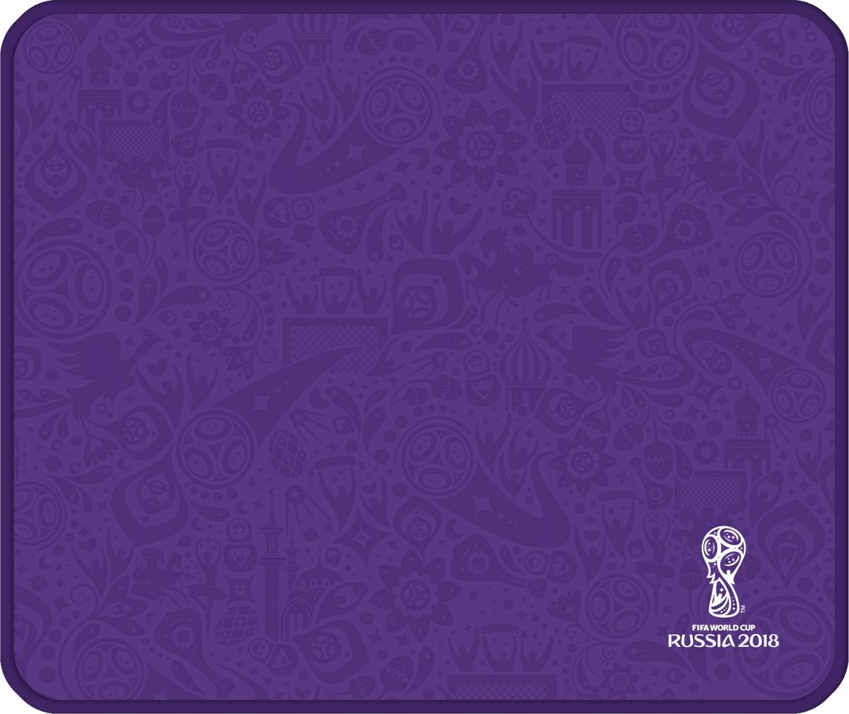 Crown Micro CM-F-MP4004 FIFA 2018, Purple коврик для мыши