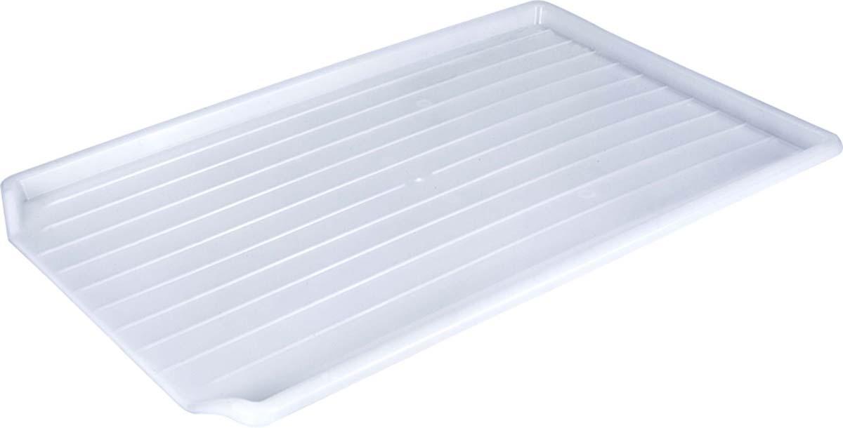 Водосборник-поднос для сушилок Metaltex, 49 х 32 см скейтборд пластиковый action цвет зеленый дека 55 см х 15 см