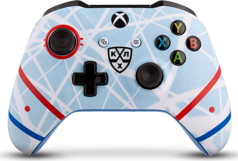 Microsoft КХЛ. Русский лед беспроводной геймпад для Xbox One геймпад беспроводной microsoft controller for xbox one [wl3 00090] [xbox one] combat tech