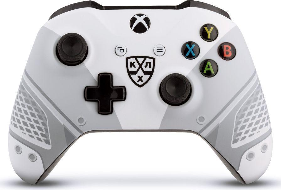 "Microsoft ""КХЛ. Все Хоккей"" беспроводной геймпад для Xbox One"