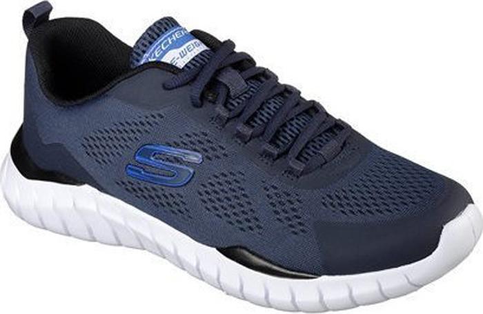 Кроссовки мужские Skechers Overhaul Darosa, цвет: синий. 52818-NVBL. Размер 11 (45)52818-NVBLЛегкие и удобные мужские кроссовки от Skechers, выполненные из дышащего текстиля, станут отличным вариантом для занятий в спортзале. Модель на ноге фиксируется при помощи шнуровки. Подкладка и стелька из текстиля и искусственных материалов гарантируют комфорт при носке. Гибкая и легкая подошва, выполненная из ТЭП-материала, долговечна и обеспечивает высокую устойчивость к деформациям.