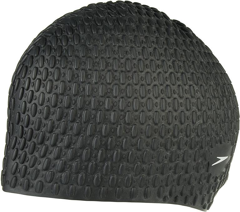 Шапочка для плавания Speedo, цвет: черный