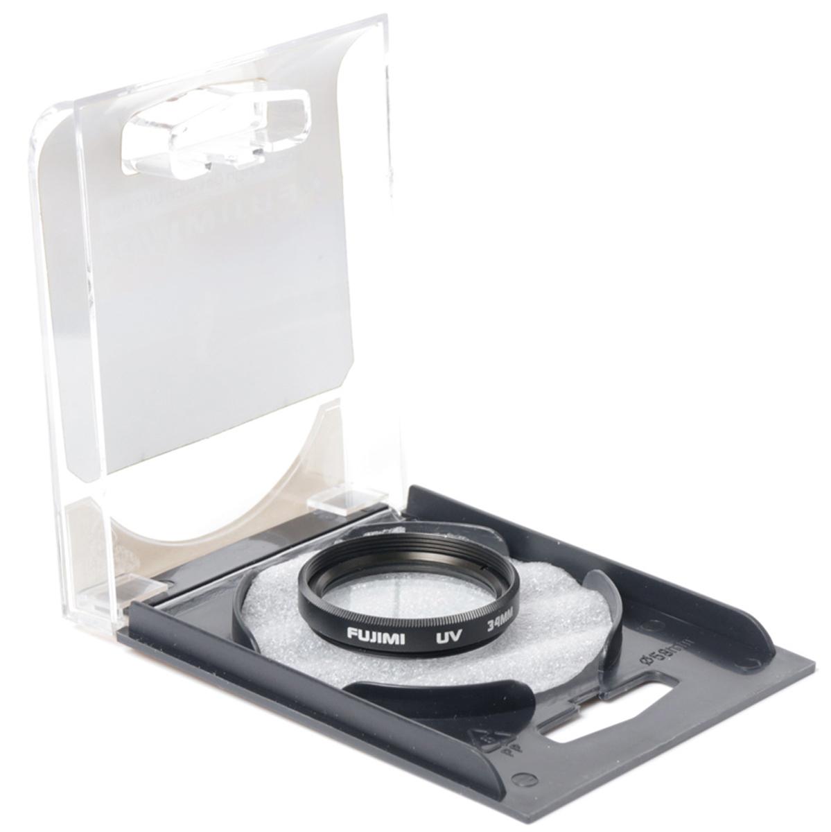 Zakazat.ru Fujimi UV М34мм, Black ультрафиолетовый фильтр (34 мм)