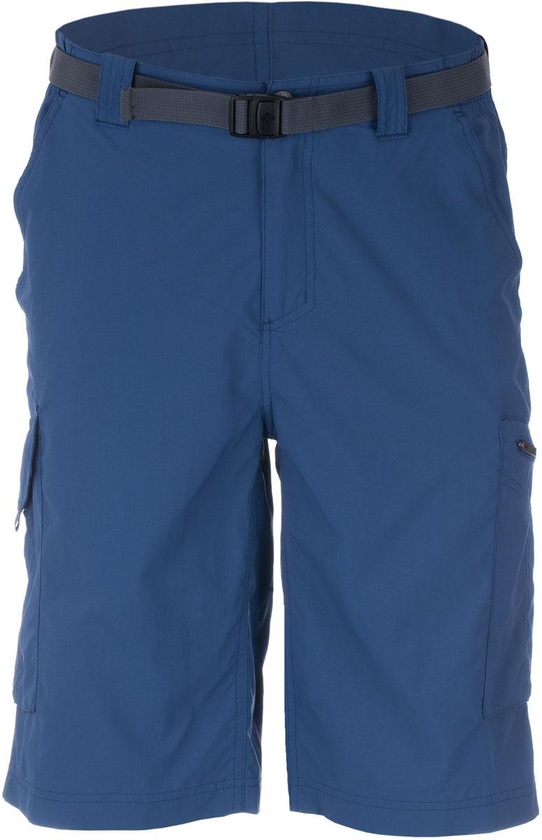 Шорты мужские Columbia Silver Ridge Cargo Short, цвет: синий. 1441701-554. Размер 30 (46)