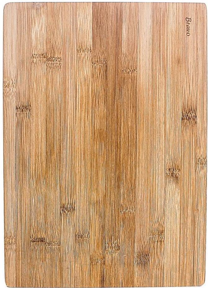 Доска разделочная Bravo, цвет: коричневый, бежевый, 30 х 20 х 1 см manderley forever the life of daphne du maurier
