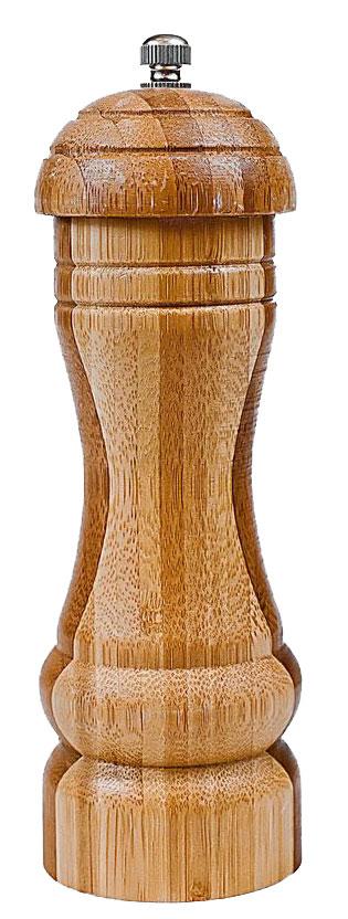 Мельница для специй Bravo, цвет: коричневый, бежевый, высота 17,8 см мельница для специй bradex молинеро