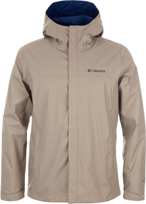 Купить Ветровка мужская Columbia Watertight II Jacket, цвет: бежевый. 1533891-265. Размер M (46/48)