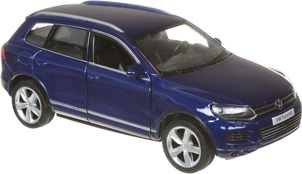Autotime Модель автомобиля Volkswagen Touareg цвет синий bburago модель автомобиля volkswagen touareg цвет синий масштаб 1 18