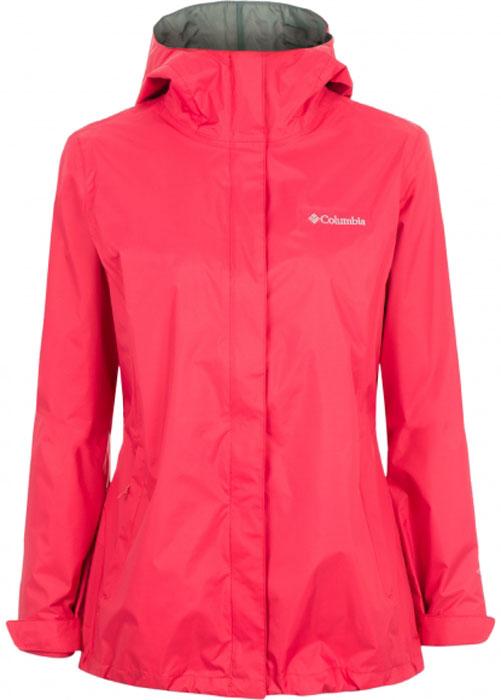 Ветровка женская Columbia Arcadia II Jacket, цвет: коралловый. 1534111-614. Размер XS (42) columbia big girls horizon ride jacket