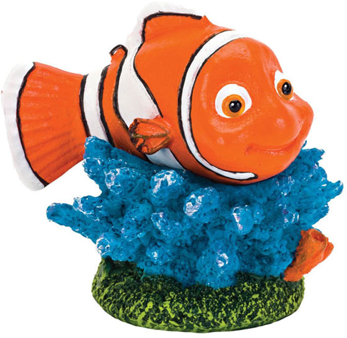 Грот для аквариума Penn-Plax Рыба-клоун Немо, 4 х 3,3 х 4,5 см penn plax камень для птиц минеральный banana page 9