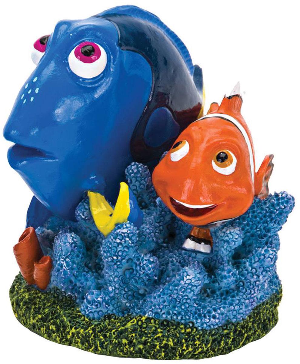 Декорация для аквариума Penn-Plax Дори и Марлин, 5 х 8 х 7 см
