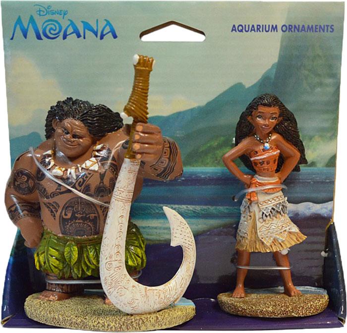 Декорация для аквариума Penn-Plax Моана и Мауи, 19,8 х 7,9 см декорация для аквариума penn plax племя тики 15 см