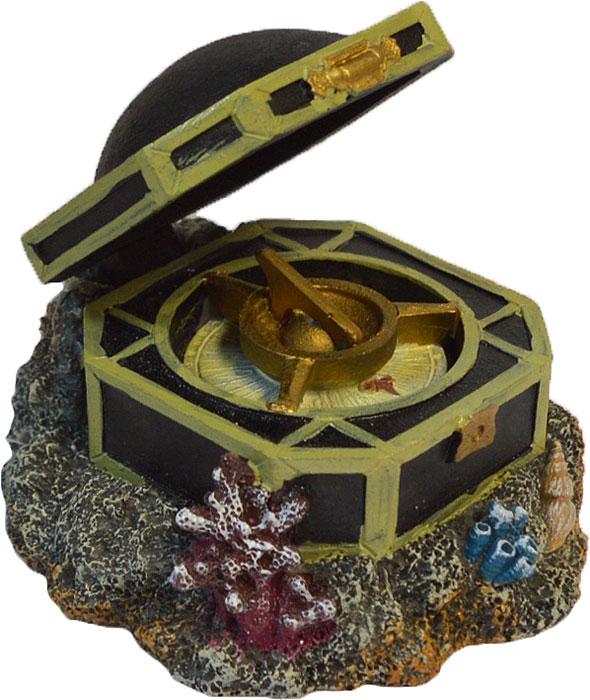 Декорация-распылитель для аквариума Penn-Plax Компас Джека Воробья черная жемчужина корабль капитана джека воробья