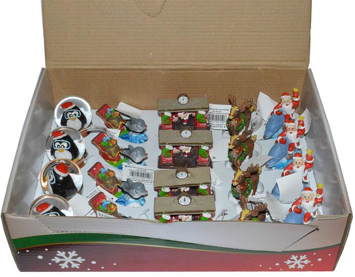 Набор рождественских декораций для аквариума Penn-Plax, 20 шт penn plax камень для птиц минеральный banana page 9