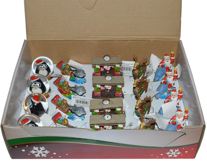 Набор рождественских декораций для аквариума Penn-Plax, 20 шт катушка морская penn commander pro 30 lw right hand