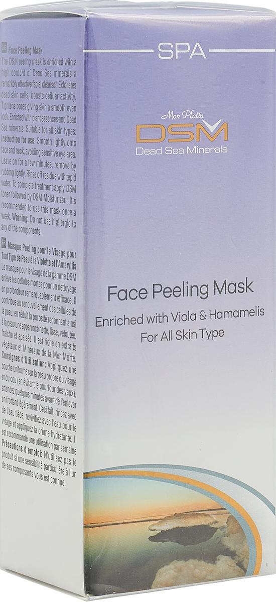 Mon Platin DSM Маска-Пилинг для лица 150 мл mon platin dsm подарочный набор для женщин для лица крем пилинг для лица без содержания мыла голубой 250 мл грязевая маска для лица 150 мл