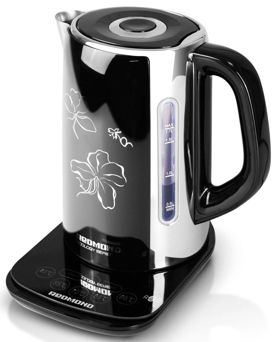 Redmond RK-M170S-Е, Black чайник электрический чайник redmond skykettle m170s