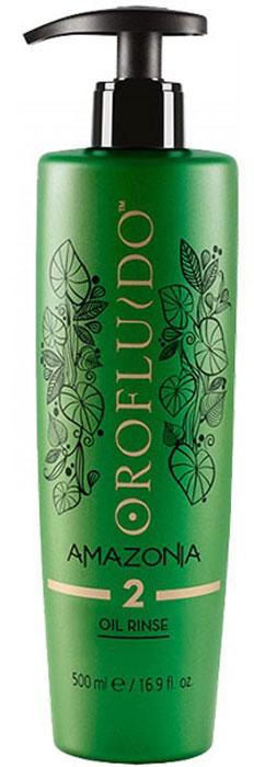 Orofluido Amazonia Rinse Oil Шаг 2 Очищающий шампунь, 500 мл7240452000Очищающее средство Orofluido Amazonia Oil Rinse, 500 мл - второй шаг процедуры.Средство создано на основе масла и предназначено для полного удаления восстанавливающего масла (Шаг 1) с волос.Важно! Используйте это средство только после шага 1! Объем: 500 мл