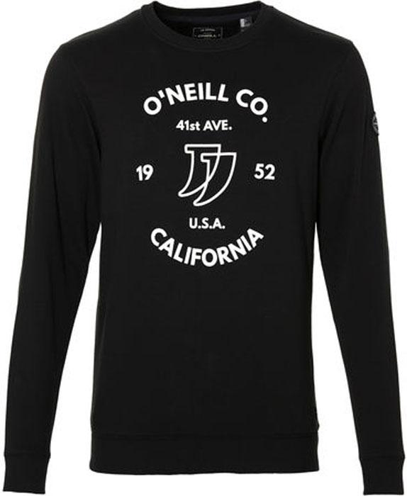 Свитшот мужской O'Neill Lm Boulevard Sweatshirt, цвет: черный. 8A1427-9010. Размер XL (52/54)