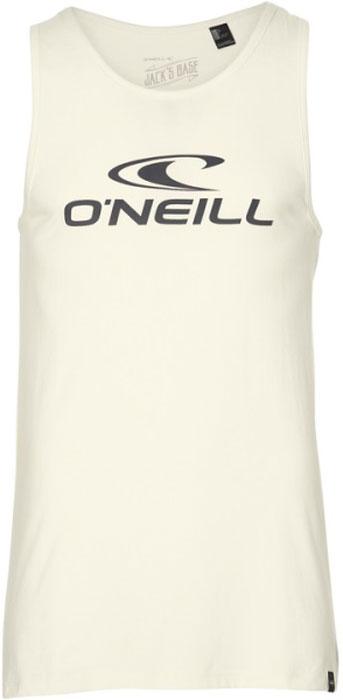 Майка мужская ONeill Lm Tanktop, цвет: молочный. 8A1912-1030. Размер L (50/52)8A1912-1030Майка от ONeill выполнена из натурального хлопкового трикотажа. Майка на широких бретелях и с круглым вырезом горловины спереди оформлена принтом с фирменным логотипом бренда.