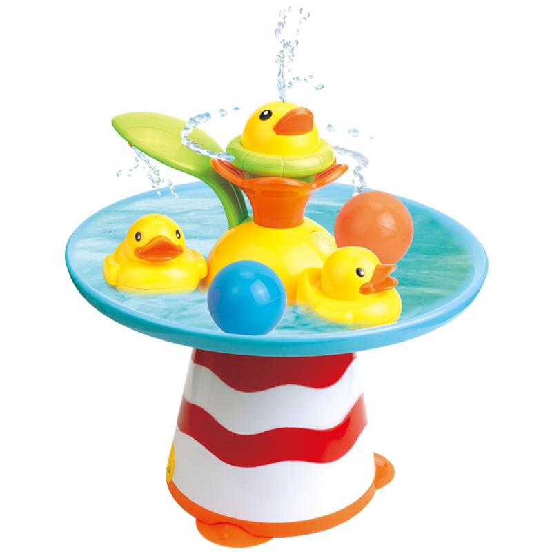 Pic'nMix Игрушка для ваннной Фонтан с уточками фонтан декоративный с подсветкой и имитацией огня гармония 47 21 97см водяная помпа напряжение