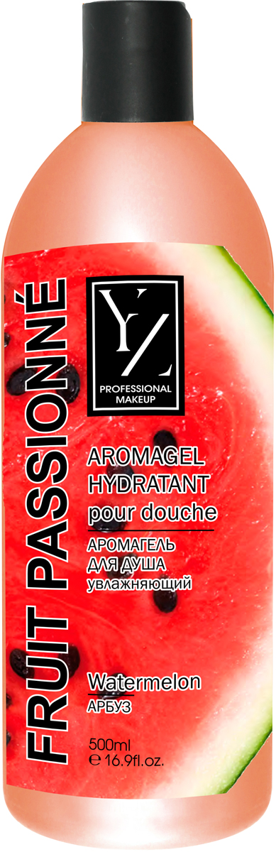 Yllozure Аромагель для душа увлажняющий Арбуз, 500 мл7014Увлажняющий арома-гель для душа с активными фруктовыми экстрактами и эфирными маслами превращается в густую пену, оздоравливающую кожу. Свежий аромат фруктов пробуждает чувства и тонизирует.