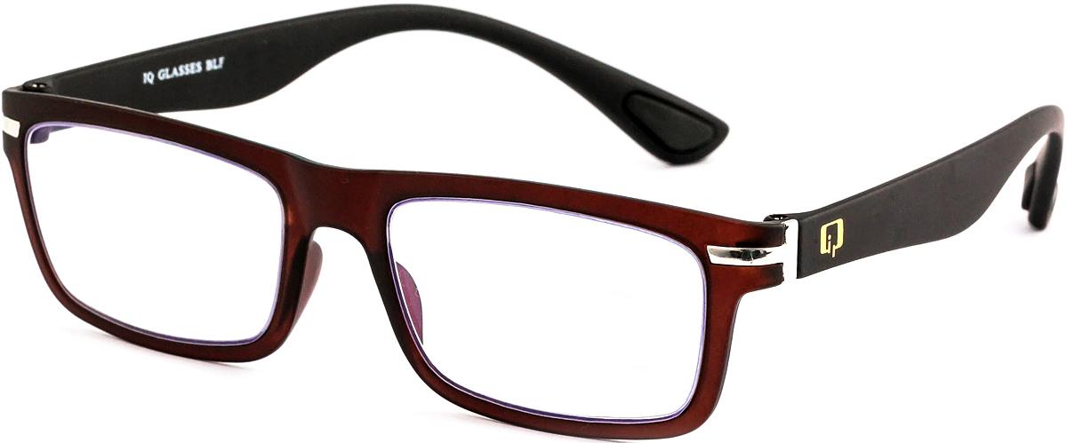 IQ Glasses Очки для чтения BLF 003 51 +1.04690452039596Готовые очки для чтения с фильтром для защиты глаз от UV400 и потенциально опасных лучей синего света, излучаемого экранами большинства электронных устройств.Снижают интенсивность потенциально опасных лучей синего цвета.Увеличивают контрастность изображения.Повышают четкость и яркость зрения.Нейтрализуют яркий и отраженный свет.Уменьшают усталость глаз.Новые очки для работы с цифровыми устройствами созданы для того, чтобы ваша жизнь онлайн была как можно комфортнее.Металлические и пластиковые оправы подойдут как модникам, так и любителям классики. Продаются без рецепта.Защита глаз сегодня, отличное зрение в будущем!