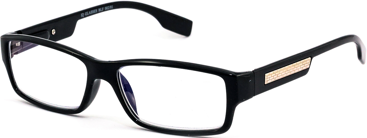 IQ Glasses Очки для чтения BLF 002 01 +2.54690452041780Готовые очки для чтения с фильтром для защиты глаз от UV400 и потенциально опасных лучей синего света, излучаемого экранами большинства электронных устройств.Снижают интенсивность потенциально опасных лучей синего цвета.Увеличивают контрастность изображения.Повышают четкость и яркость зрения.Нейтрализуют яркий и отраженный свет.Уменьшают усталость глаз.Новые очки для работы с цифровыми устройствами созданы для того, чтобы ваша жизнь онлайн была как можно комфортнее.Металлические и пластиковые оправы подойдут как модникам, так и любителям классики. Продаются без рецепта.Защита глаз сегодня, отличное зрение в будущем!